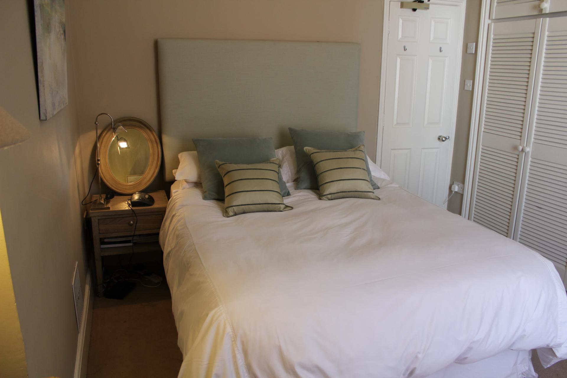 Bedrooms at Warrington Place Apartment
