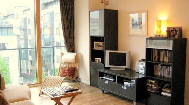 Living area at Hanover Riverside Residence