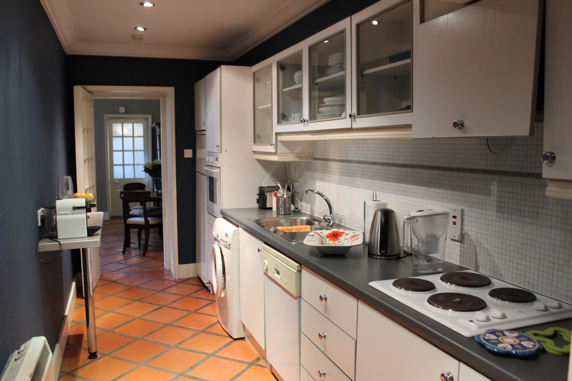 Kitchen at Lesson Street Apartment