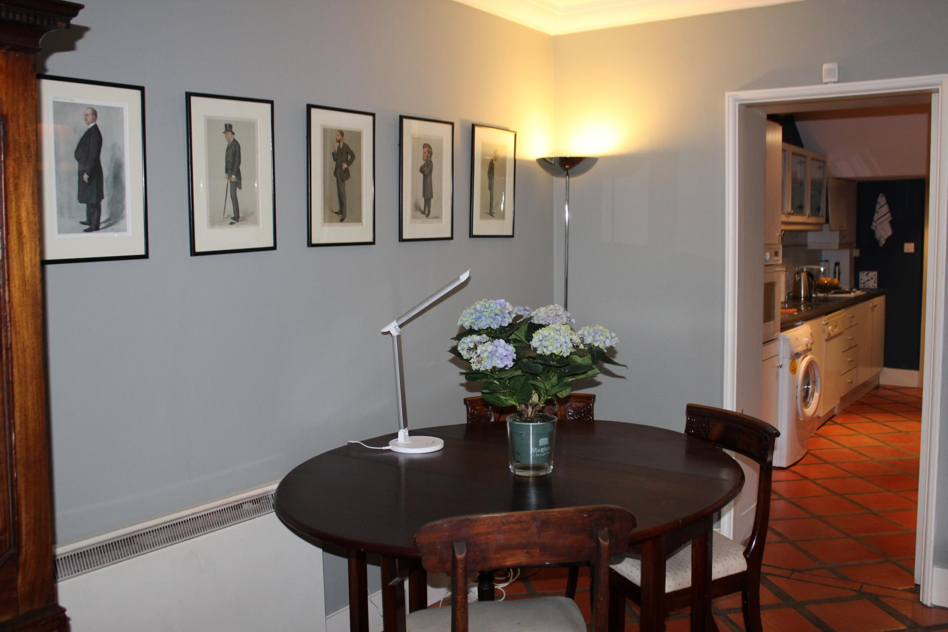 Dining area at Lesson Street Apartment