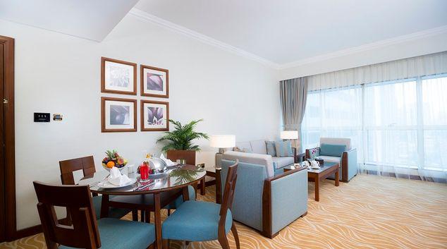 Living room at Majlis Grand Mercure Residence