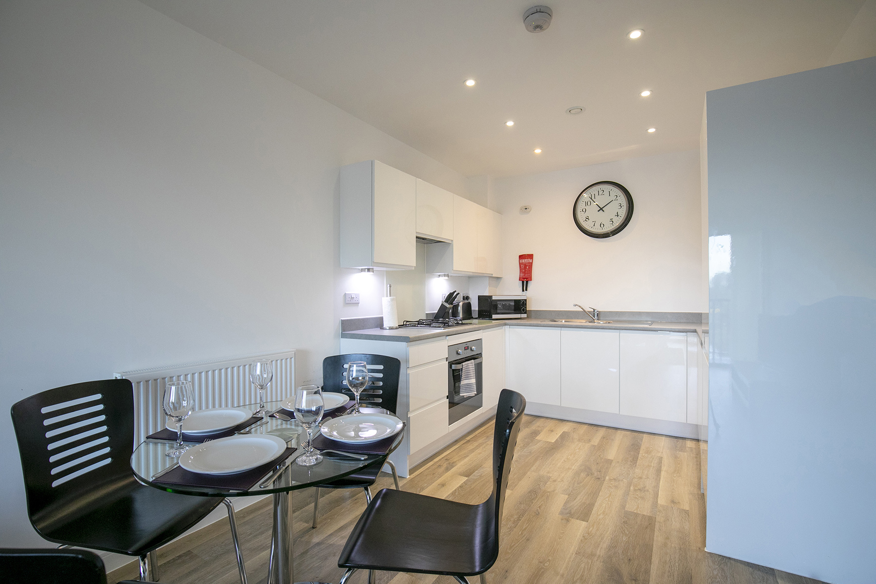 Dining area at Wey Corner Apartment, Centre, Guildford