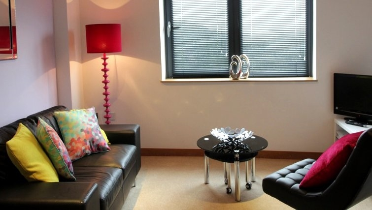 Spacious living room in Vivo Serviced Apartments
