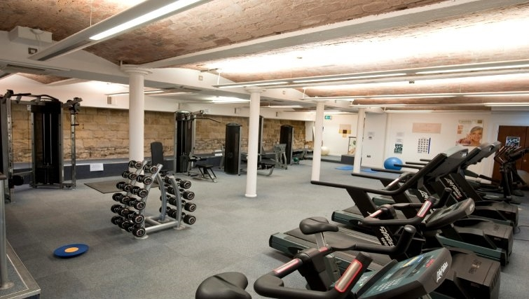 Large gym in Vivo Serviced Apartments