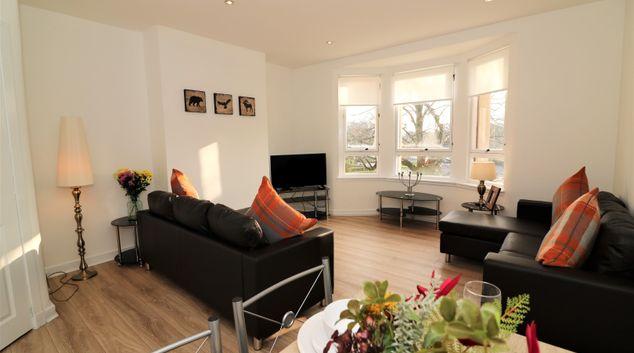 Living room at  Kingsland House