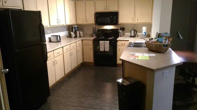 Kitchen at Nexus Serviced Apartments