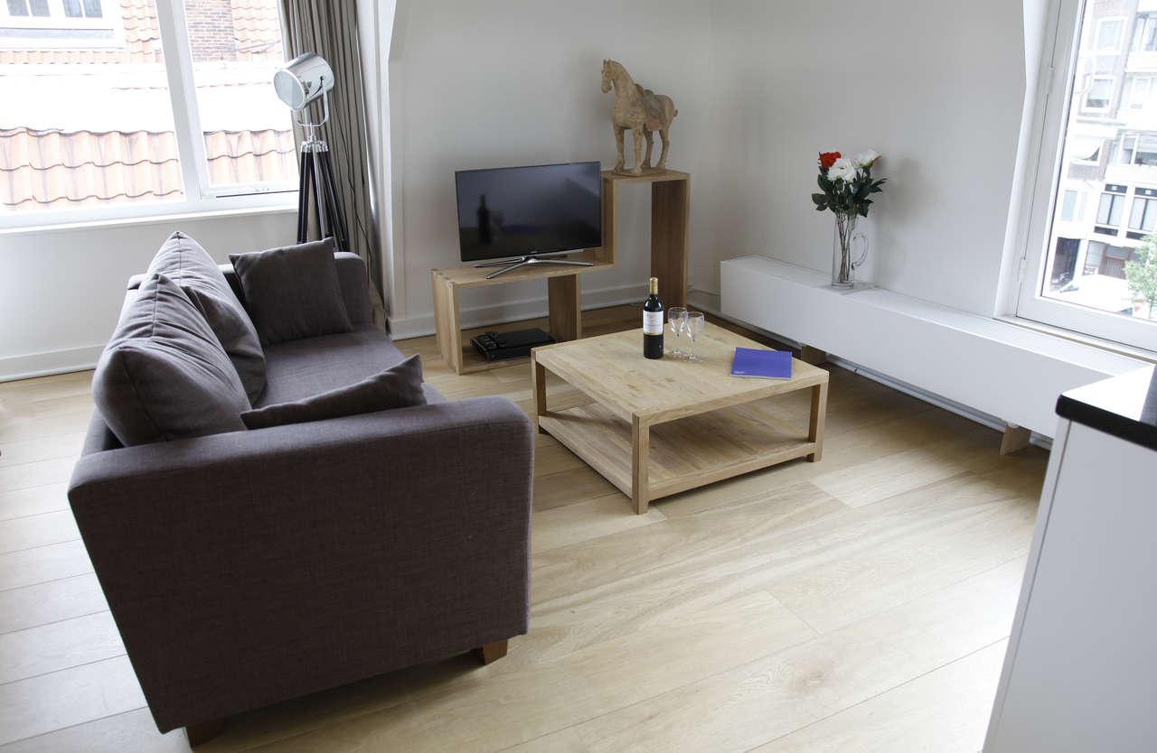 Living room at Le Petit Prince IV Apartment, Amsterdam