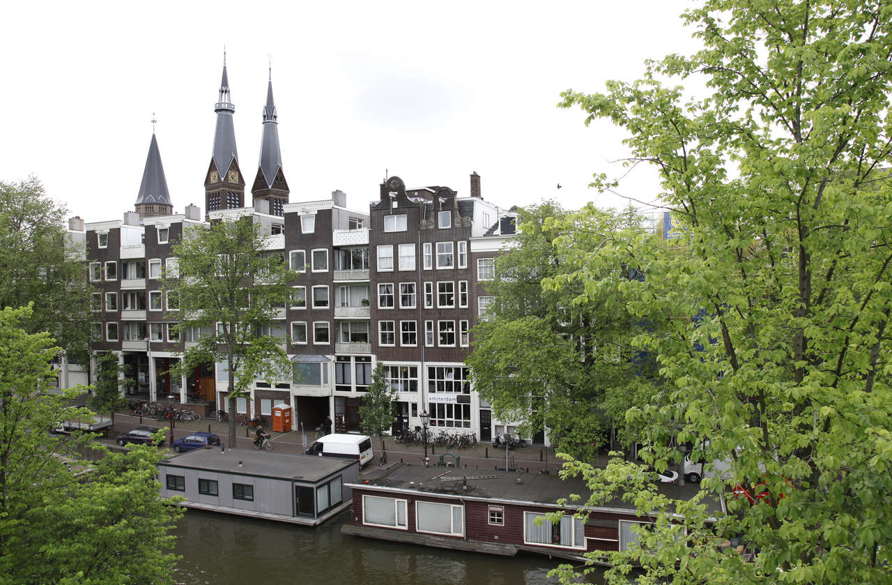 View from Le Petit Prince IV Apartment, Amsterdam