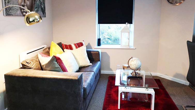 Sofa at Metropolitan House Serviced Apartments