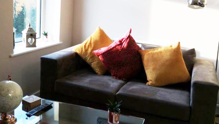 Lounge area at Metropolitan House Serviced Apartments