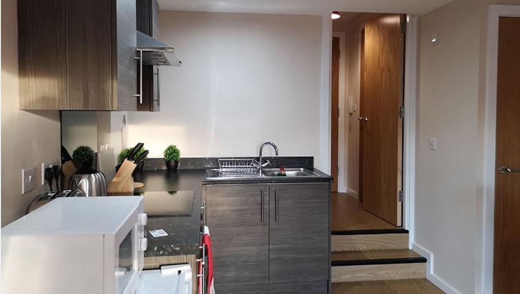 Sink at Metropolitan House Serviced Apartments