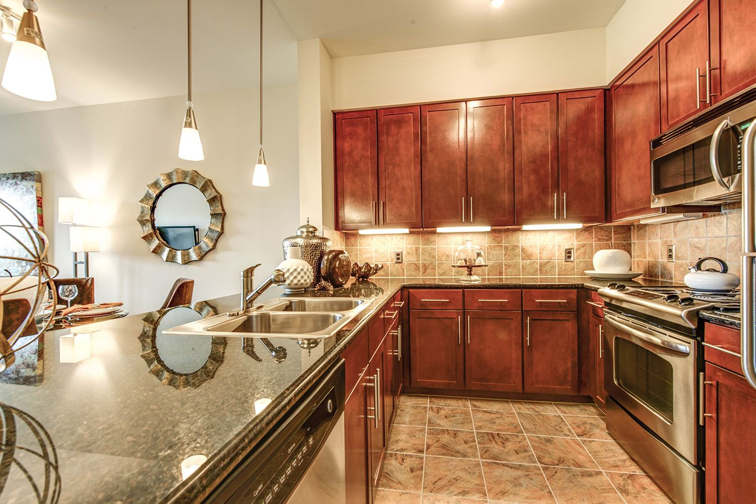Kitchen at Peachtree Dunwoody Place