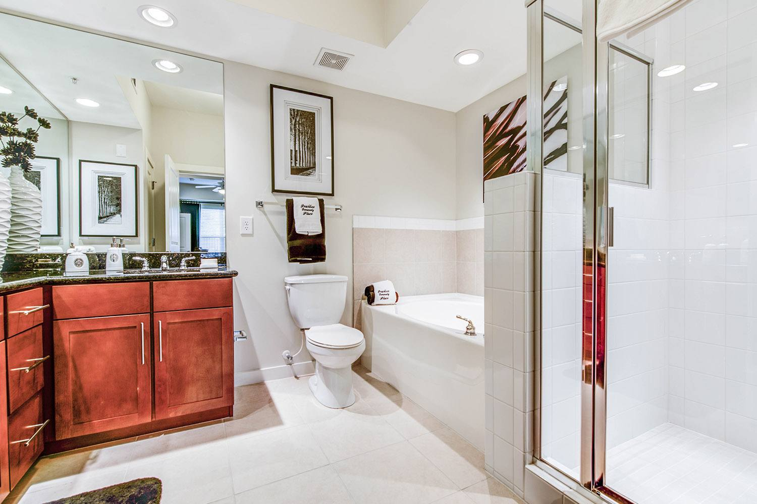 Bathroom at  Peachtree Dunwoody Place
