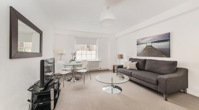 Comfortable living area in Dolphin Square