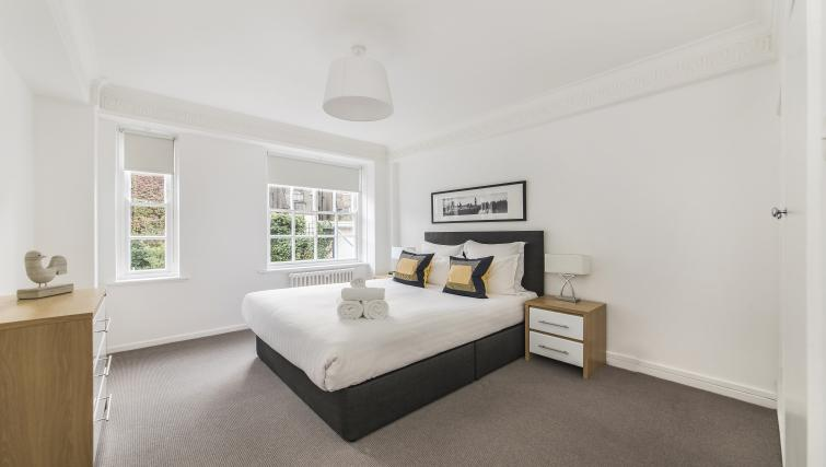Comfortable bedroom in Dolphin Square