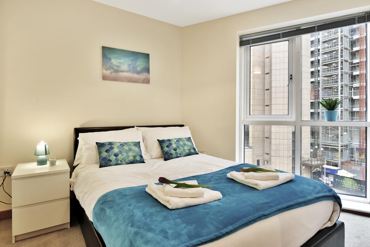 Bedroom at Cuba Street Apartment
