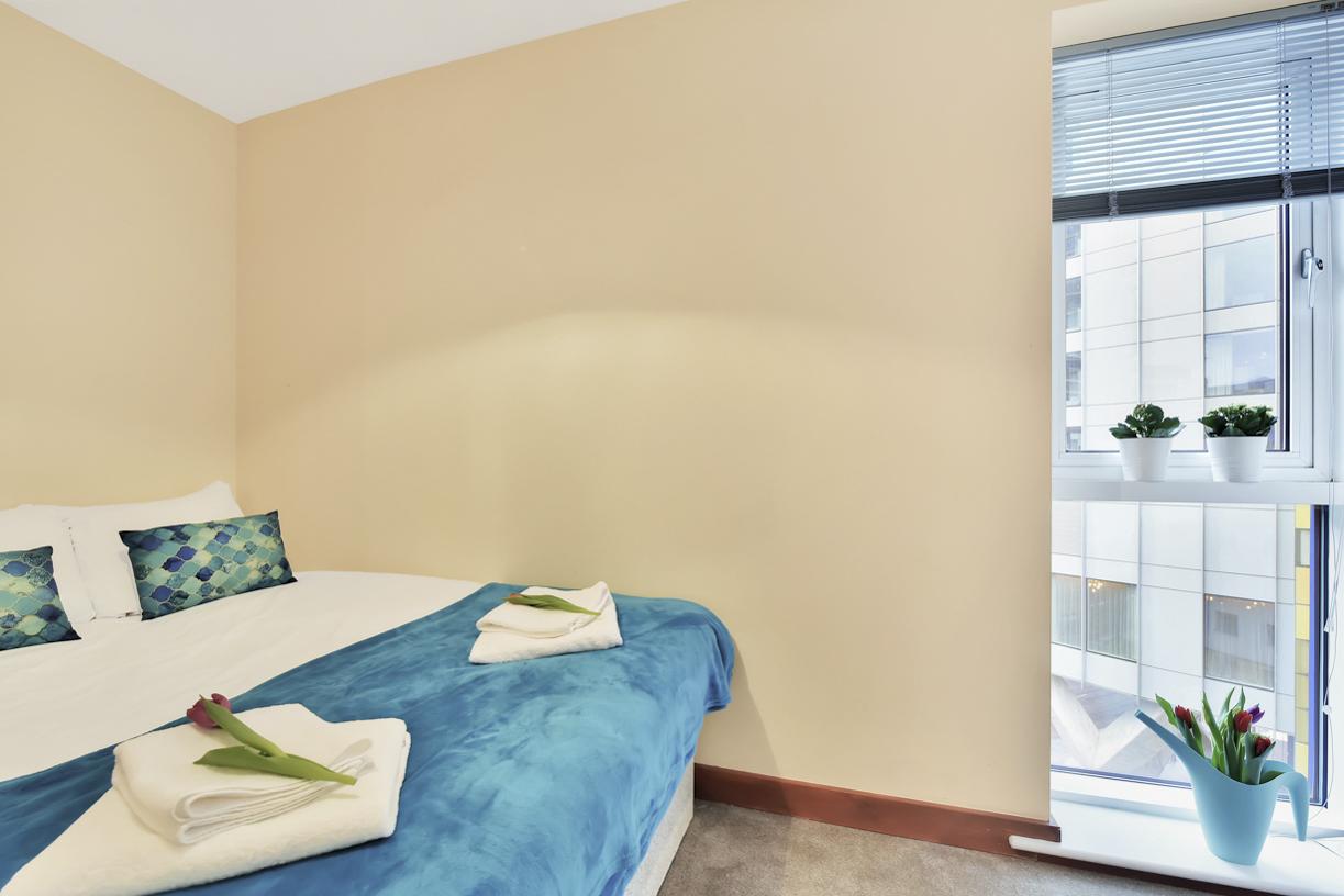 Comfortable bedroom at Cuba Street Apartment