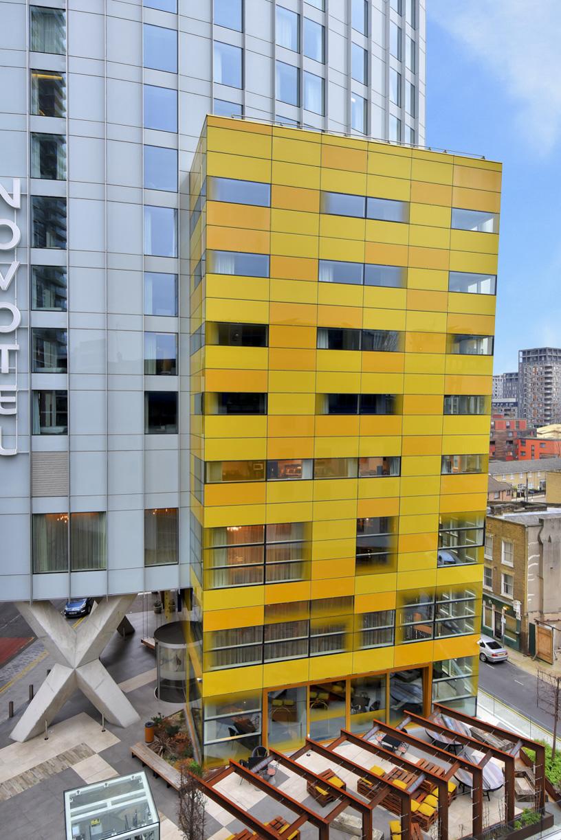 Exterior at Cuba Street Apartment