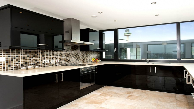 Amazing kitchen in Lever Court Apartments