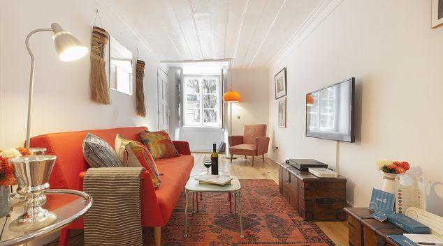 Living room at Contador Mor Apartments