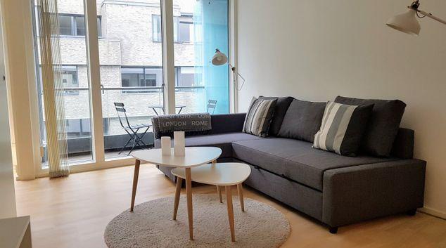 Living room at Amerkia Plads Apartment
