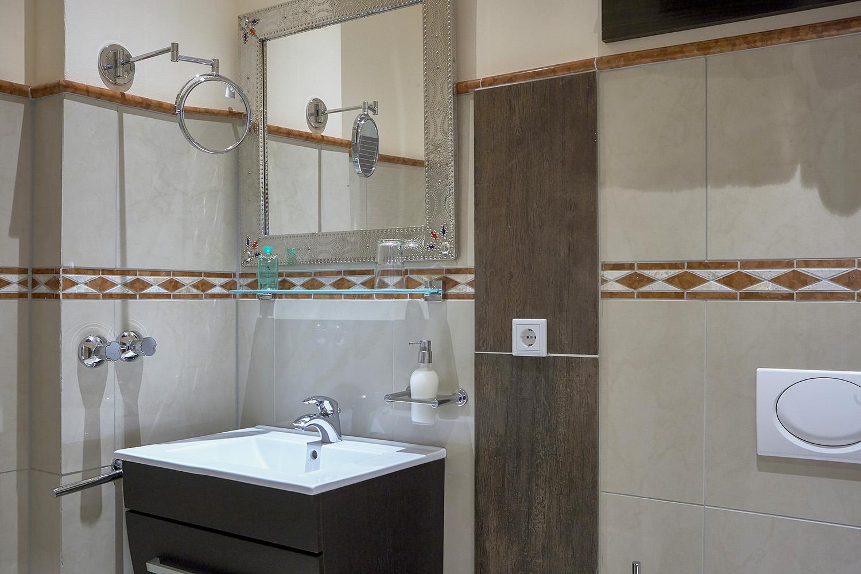 Bathroom at 343 Boardinghouse Apartments