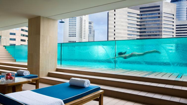 Pool at Ascott Raffles Place Singapore Apartments, Singapore