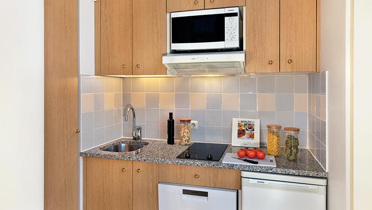 Modern kitchen in Citadines Kurfurstendamm Apartments