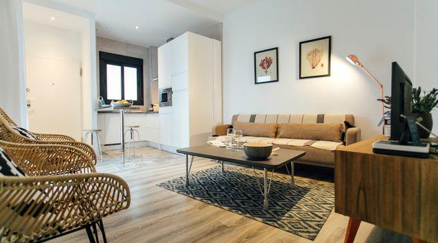 Lounge at Aguilas Apartment, Centre, Seville