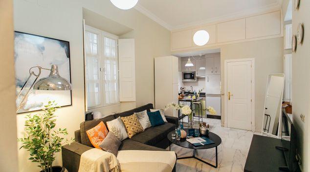 Living room at Dean Miranda Apartment