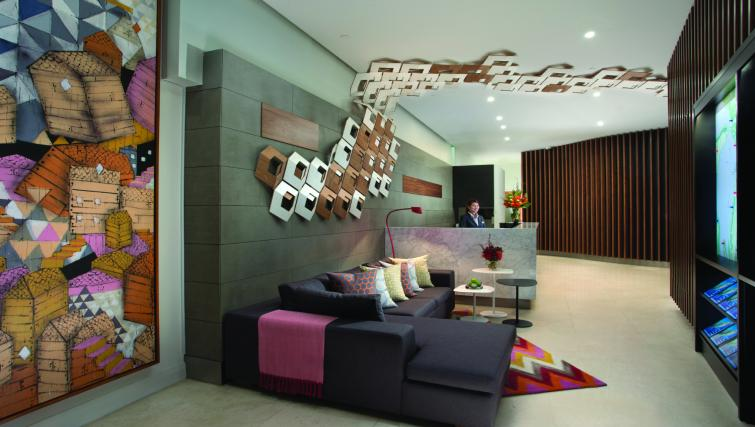 Reception area at Citadines St George Terrace Apartments