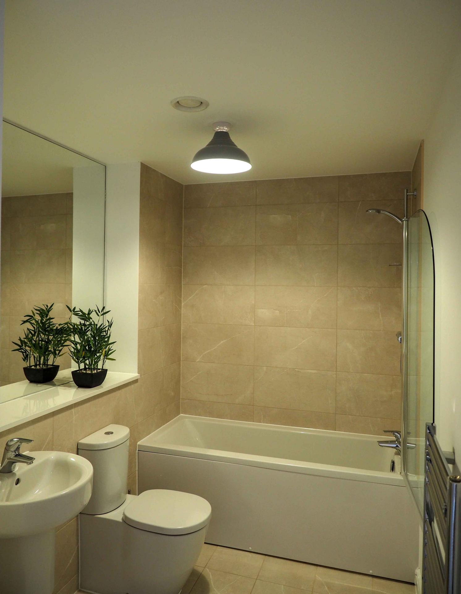 Bathroom at Wessex Court Serviced Apartment