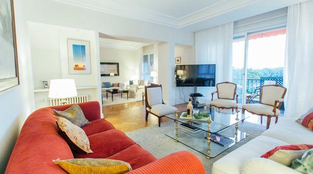 Living room at Diego De Riano Apartment