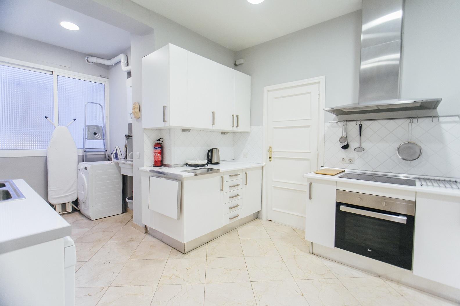 Kitchen at Diego De Riano Apartment