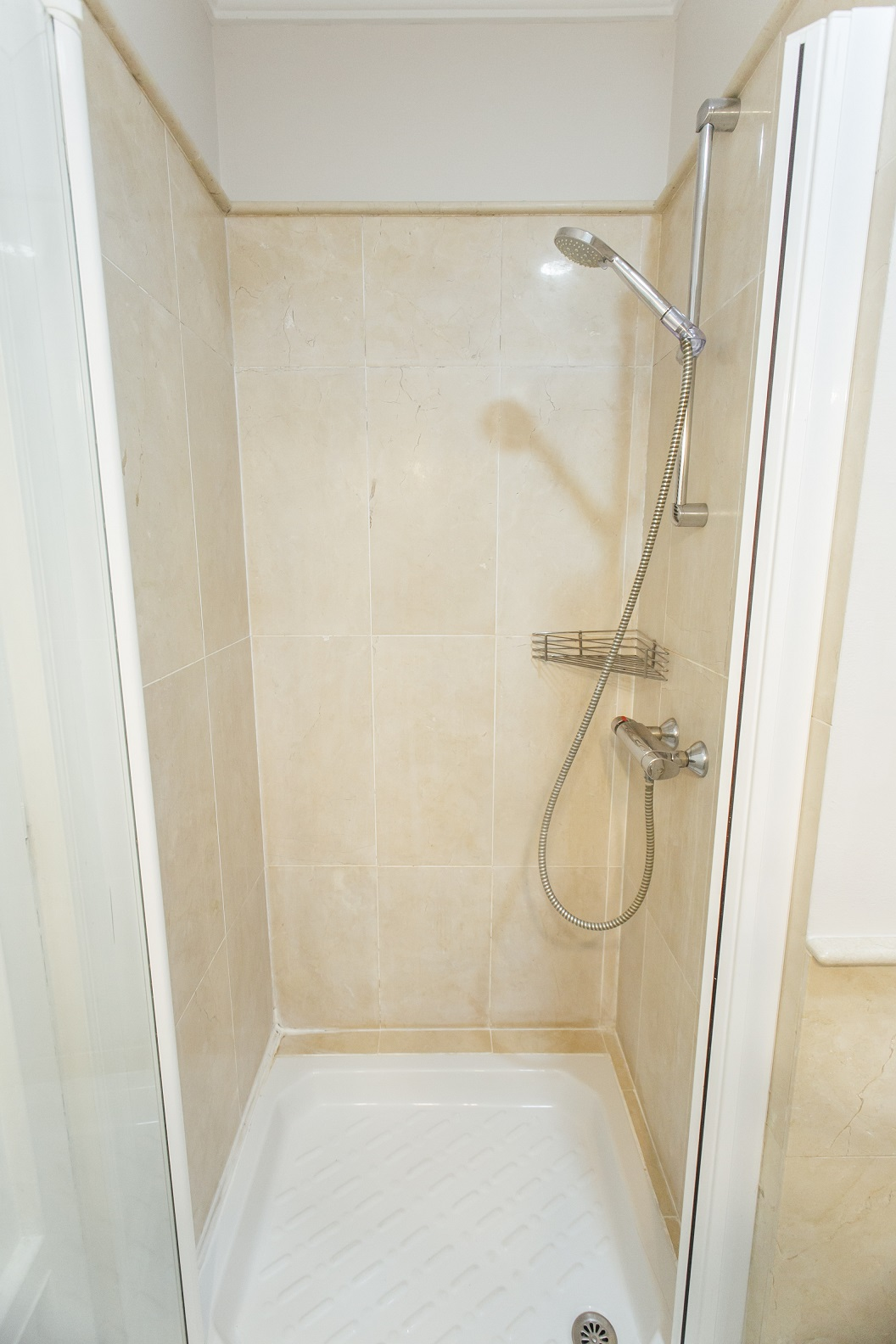 Shower head at Diego De Riano Apartment