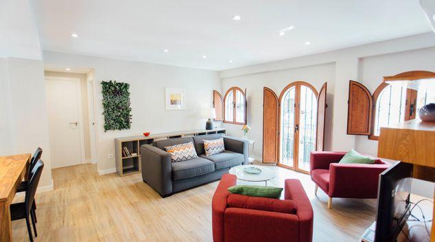 Living room at San Basilio Apartment