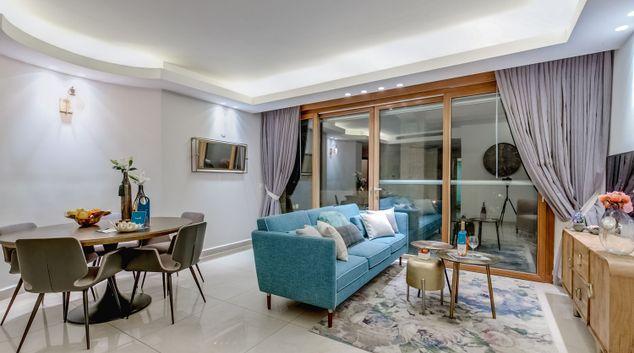 Living room at King David Crown Apartment
