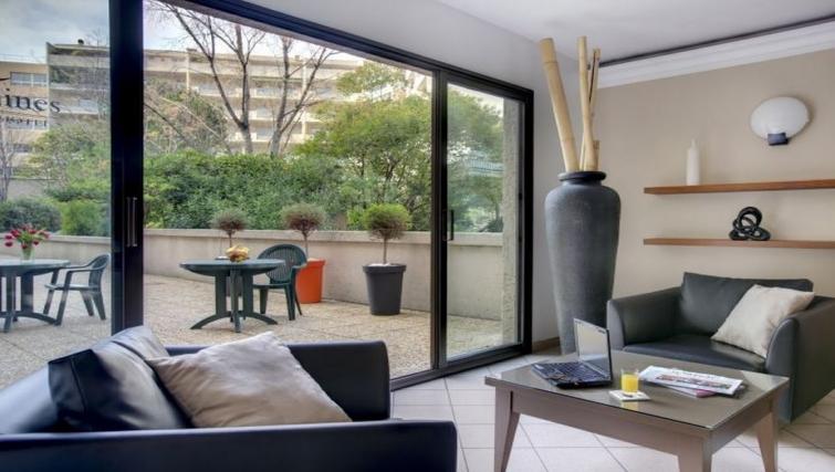 Bright lobby in Citadines Castellane Apartments