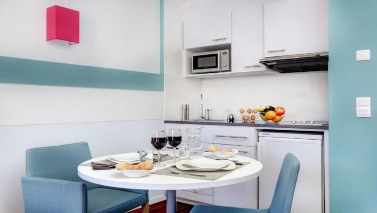 Dining area in Citadines Castellane Apartments