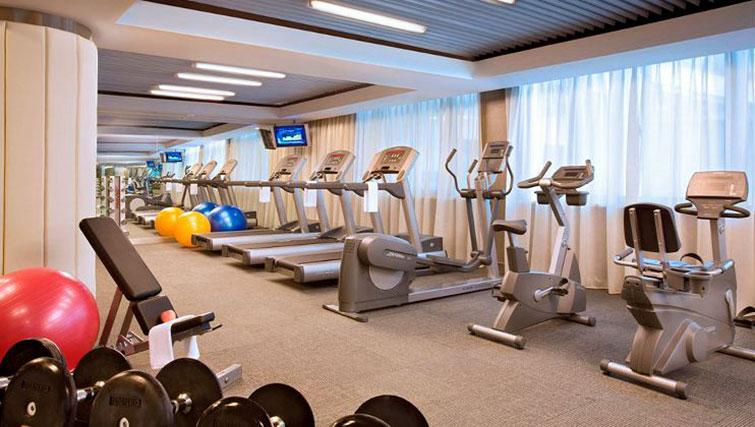 Gym at Ascott Emerald City Apartments