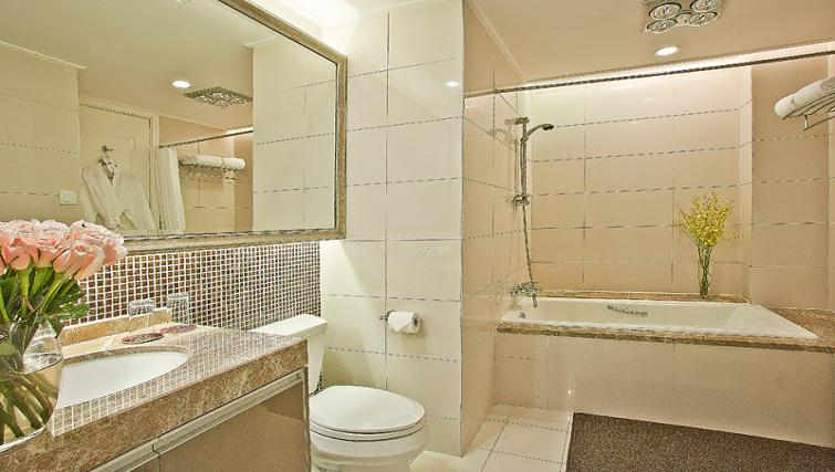 Bathroom at Ascott Emerald City Apartments