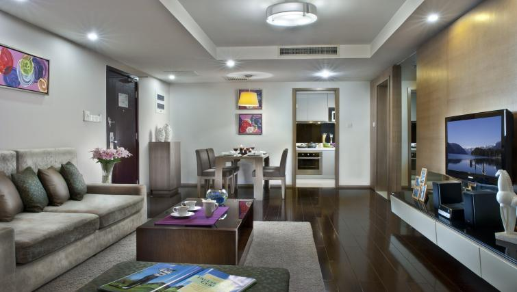 Spacious apartment at Somerset JieFangBei Apartments