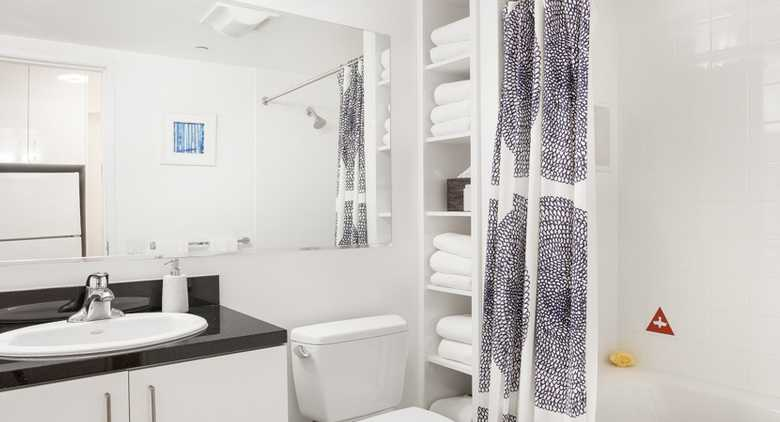 Bathroom at Mission Street Apartment