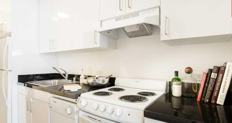 Kitchen at Mission Street Apartment