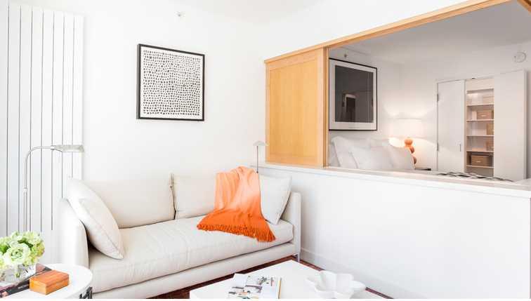 Sofa at Mission Street Apartment