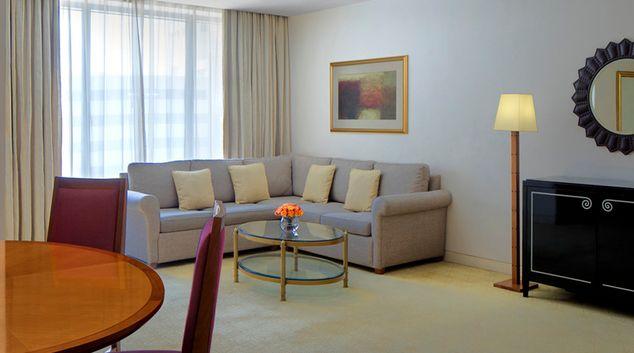 Living room at The H Dubai Apartments