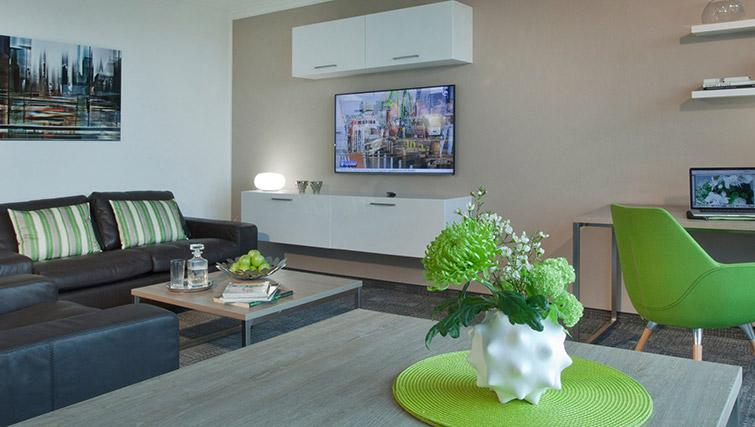 Stylish living space at Lindner Messe Residence Dusseldorf