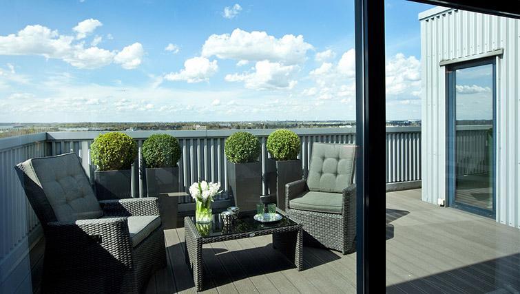 Terrace at Lindner Messe Residence Dusseldorf