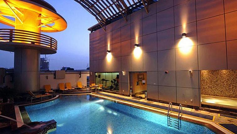Pool at Vision Hotel Apartments