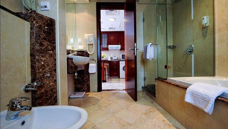 Bathroom at Vision Hotel Apartments
